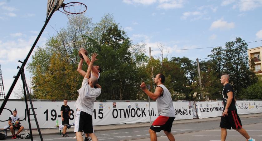 Koszykówka, kosza ulicy - zdjęcie, fotografia