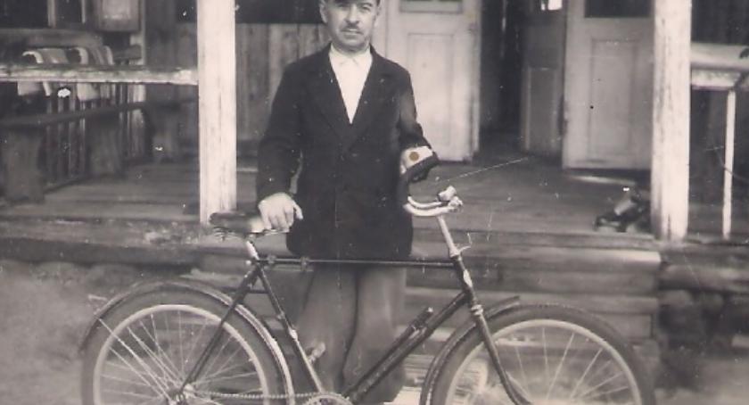Historia, Rowery drewnianych kołach - zdjęcie, fotografia