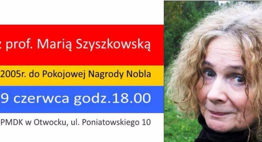 Prawo, Spotkanie Marią Szyszkowską - zdjęcie, fotografia