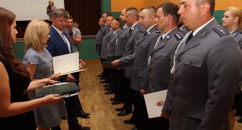 Urzędy, Otwockie obchody Święta Policji - zdjęcie, fotografia