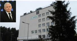 Jarosław Kaczyński w szpitalu w Otwocku