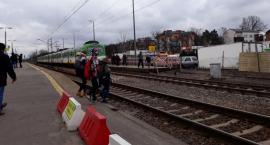 Będzie łatwiejsze przejście na peron tymczasowy na stacji Otwock