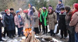 Spalili marzannę w Centrum Edukacji Leśnej