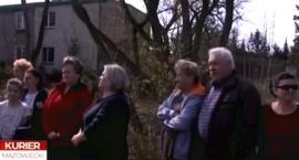 Protest mieszkańców Piastowej w Kurierze
