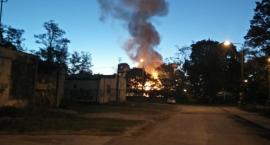 Nocny pożar w Świdrze - film