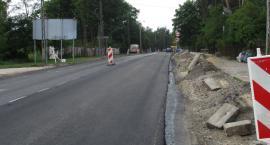 Przebudowy na DW721 w Józefowie