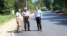 Już 3 km dróg powiatowych z nową nawierzchnią