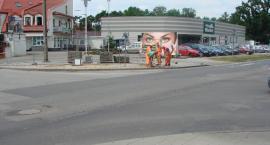 Tymczasowe ronda przy ul. Reymonta