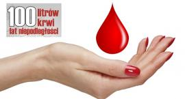 100 litrów krwi na 100-lecie Niepodległości Polski