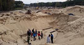 Wycieczka na wykopaliska w Wiązownie
