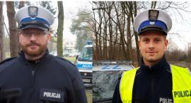 Dobra robota policjantów drogówki