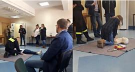 Szkolenie z pierwszej pomocy dla lokalnych dziennikarzy