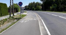 (Nie)wygodna ścieżka rowerowa w gminie Wiązowna