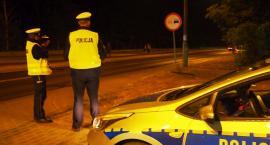 Nocne kontrole otwockiej drogówki