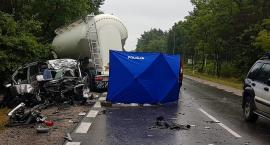 Śmiertelny wypadek na DW801