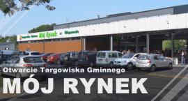 """Uroczyste otwarcie targowiska """"Mój Rynek"""" w Wiązownie"""
