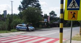 """Otwoccy policjanci w akcji """"Bezpieczna droga do szkoły"""""""
