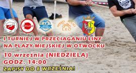I Turniej w Przeciąganiu Liny na Plaży w Otwocku