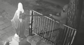 Apel policji w sprawie zniszczenia figury Matki Bożej