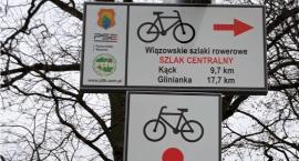 Szlak rowerowy Wiązowna - Glinianka