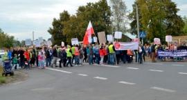 Protest przeciwko odorom