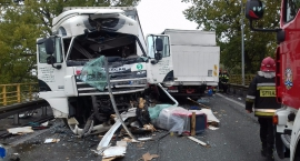 Wypadek na DK50, utrudnienia w ruchu