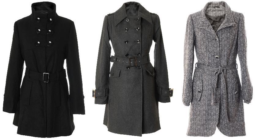 Moda, Kurtki płaszcze damskie - zdjęcie, fotografia