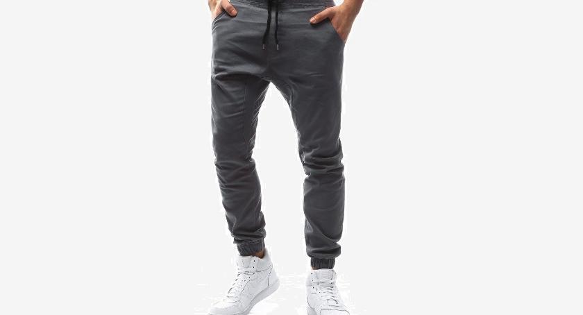Moda, Joggery męskie spodnie które musisz mieć! - zdjęcie, fotografia