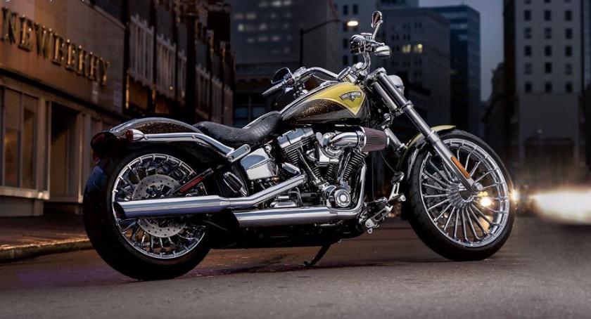 Motoryzacja, Harley Davidson Breakout model - zdjęcie, fotografia