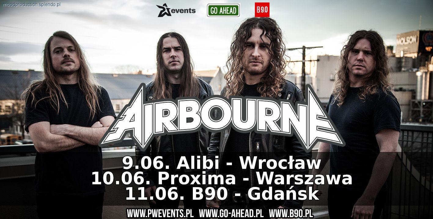 Koncerty, czerwca zagra Airbourne! - zdjęcie, fotografia