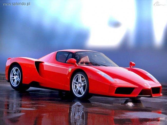 Motoryzacja, Ferrari - zdjęcie, fotografia