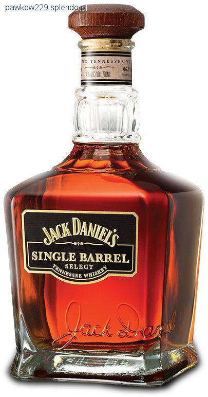 Whisky, daniel single barrel - zdjęcie, fotografia