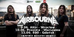 11 czerwca w B90 zagra Airbourne!