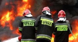 Pożar w Wilczopolu.
