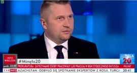 Wojewoda Lubelski w TVP Info o sprawie Krzysztofa Żuka