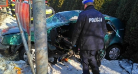 Tragiczny wypadek w Nowym Krępcu