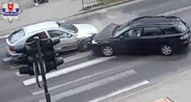 Ignorowanie znaków drogowych przyczyną stłuczki na Gospodarczej