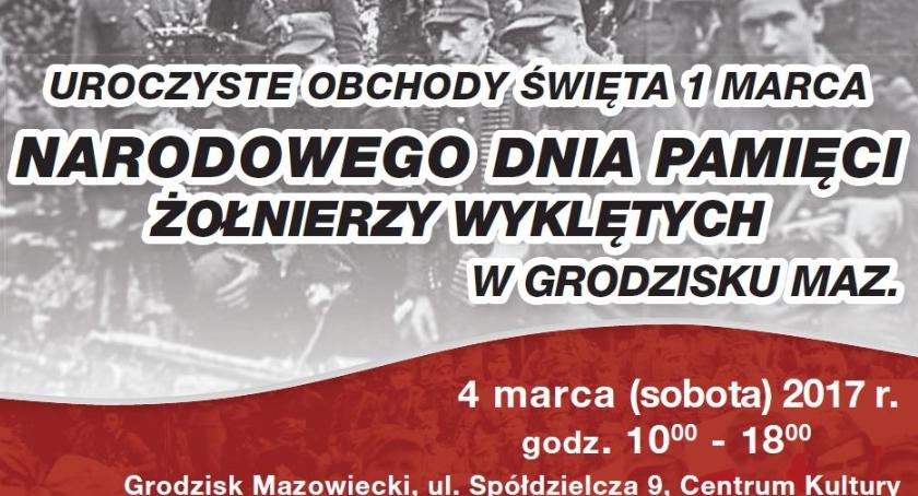 Imprezy, Obchody okazji święta marca Grodzisku Mazowieckim - zdjęcie, fotografia