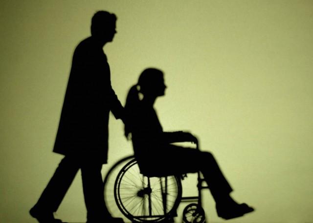 Polityka, Niepełnosprawni kopercie - zdjęcie, fotografia