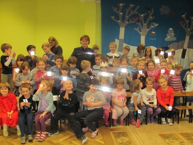 Oświata, Bezpieczne przedszkolaki - zdjęcie, fotografia