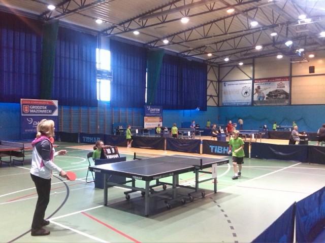 Sport, Rodzinny Turniej Tenisa - zdjęcie, fotografia