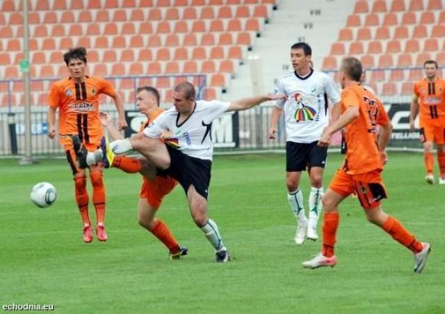 Sport, Pogoń rozstrzelała Mechanika - zdjęcie, fotografia