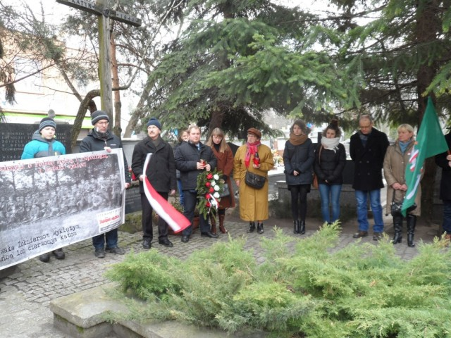 Aktualności, Grodzisk Mazowiecki oddał hołd niezłomnym Żołnierzom Wyklętym - zdjęcie, fotografia