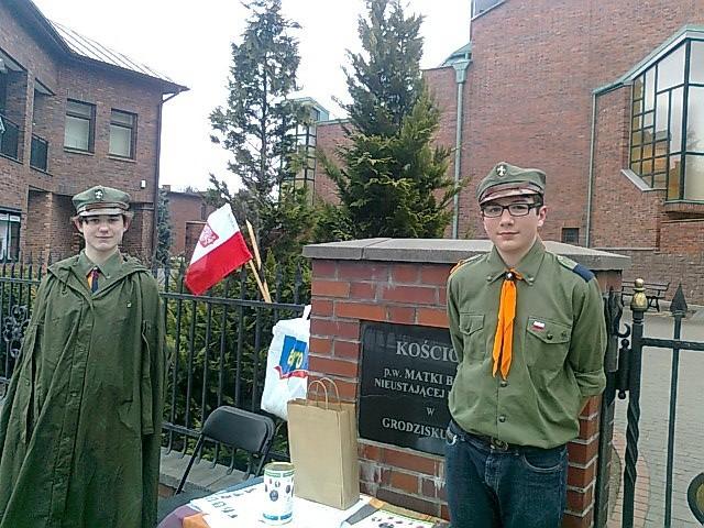 Informacje o Grodzisku, Kombatanci mogą liczyć naszych mieszkańców Dziękujemy! - zdjęcie, fotografia