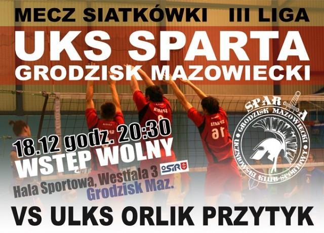 Sport, Sparta Szansa kolejne punkty - zdjęcie, fotografia