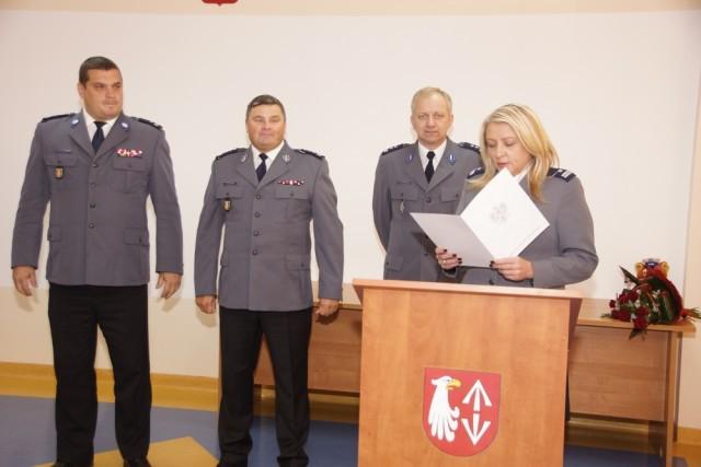 Na sygnale, Grodzisku Mazowiecim nowego Komendanta - zdjęcie, fotografia