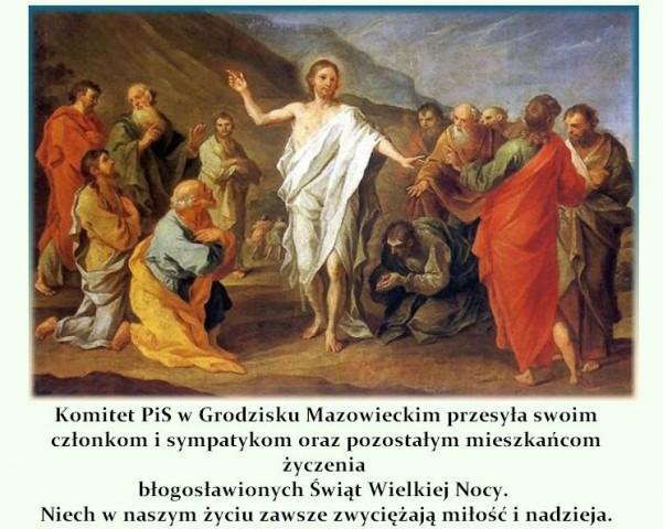 Komunikaty, Błogosławionych Świąt Wielkiej - zdjęcie, fotografia