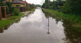 List mieszkańców Kozer do Burmistrza - zalane posesje i drogi
