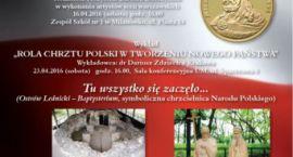 """Przedstawienie  teatralne """"CHRZEST BIAŁO-CZERWONEJ"""""""