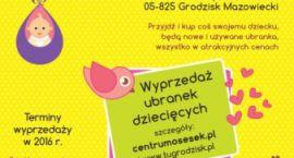 BABY SWAPy, wyprzedaż ubranek i zabawek dziecięcych od godz. 10:00 do 12:00,  co miesiąc w Osesku.